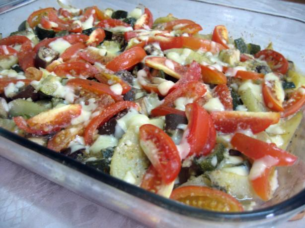 Baked Vegetables (Turlu Furno)