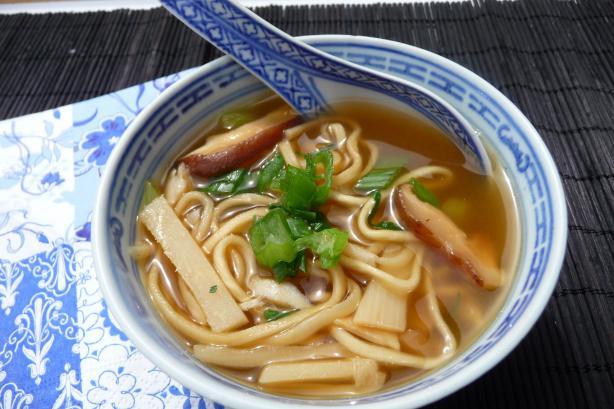 Noodles in Soup
