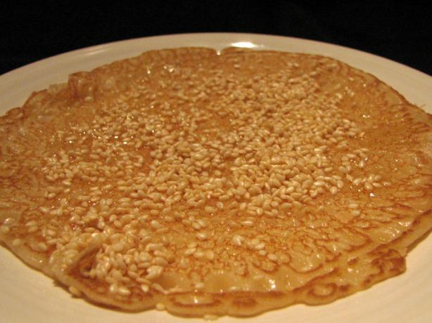 Ancient Honey and Sesame Fritters - (Arxaies Tiganites Me Meli K