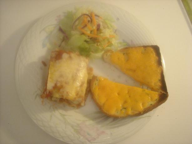 Lasagna Rolls (Microwave)