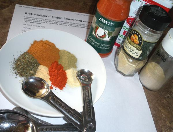 Rick Rodgers' Cajun Seasoning