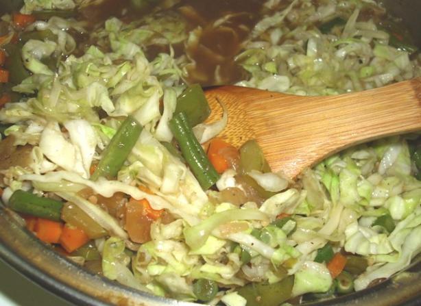 Vegetarian Pansit Noodles (Filipino)