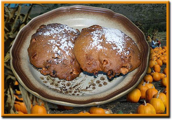 Pumpkin Butterscotch-Chip Cookies