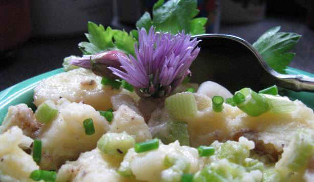 Potato Salad With Celery and Scallions