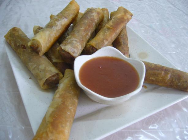 Vegetarian Lumpiang Shanghai (Similar to an Egg Roll)