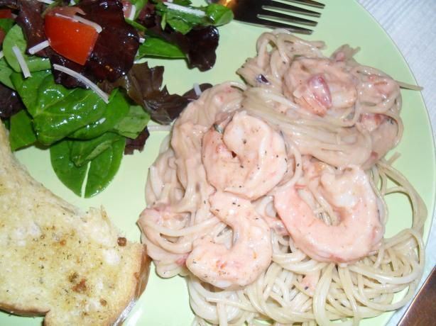Shannon's Shrimp Alfredo