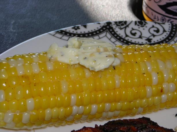 Corn on the Cob With Lemon-Basil Butter