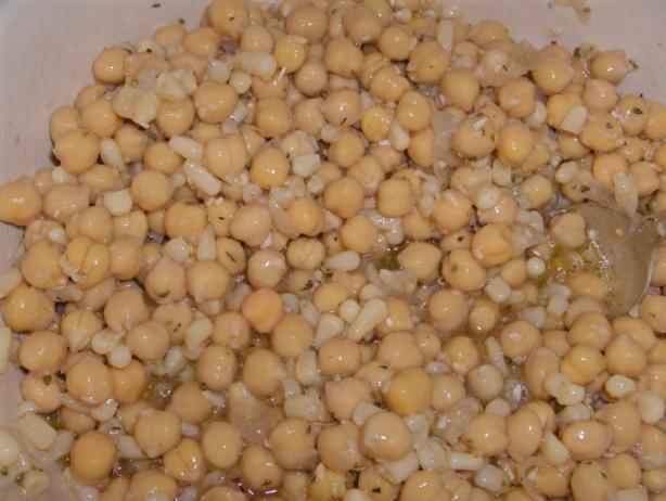 Elena's Garbanzo Ceviche
