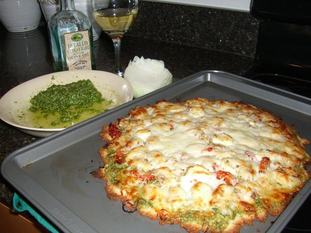 Gourmet Pesto Pizza