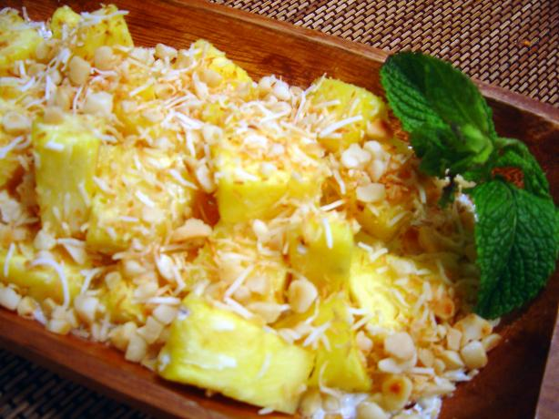 Tanzanian Pineapple Salad