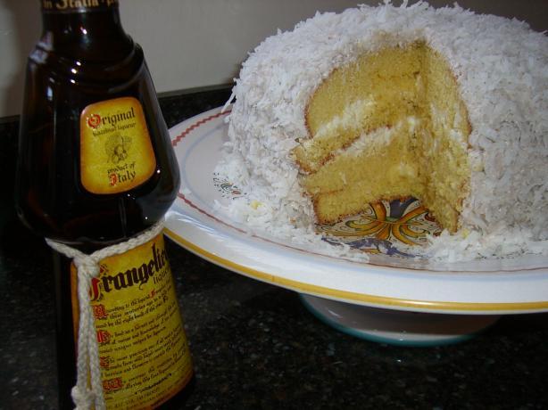 Frangelico Coconut Cake