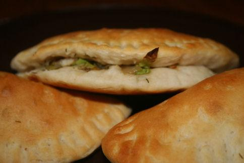 Cabbage-Filled Pastries
