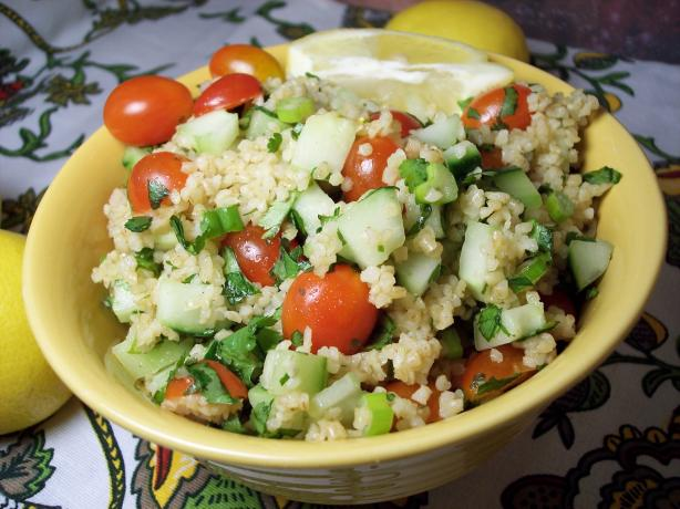 Lemon Lovers' Tabbouleh