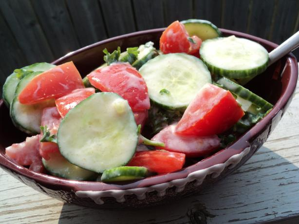 Yogurt Tomato Salad