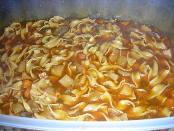 Homey Mushroom Noodle Soup