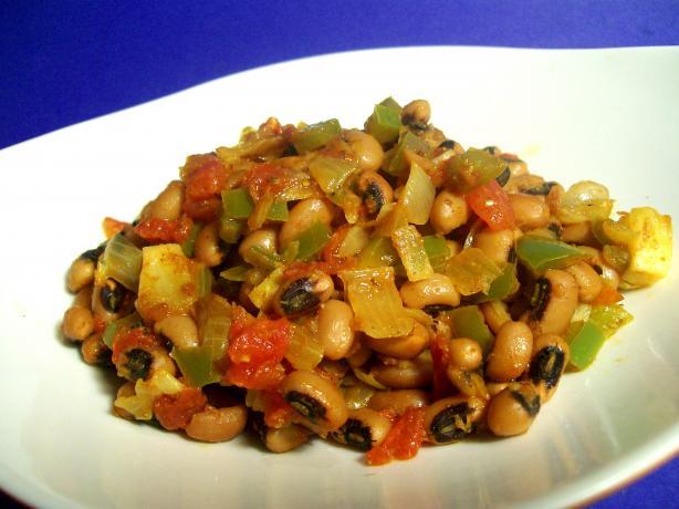 Seasoned Black-Eyed Peas