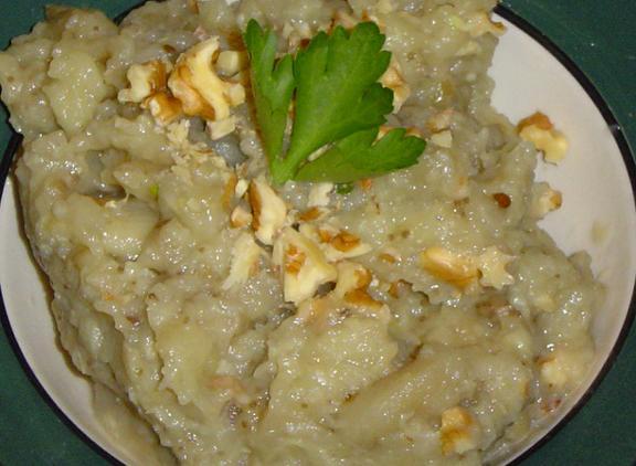 Pinjur - Macedonian Aubergine / Eggplant Dip
