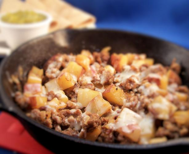 Potatoes and Sausage Skillet Fry