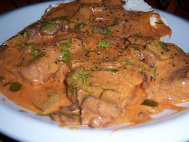 Beef Paprikas