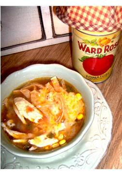 Southwestern Enchilada Chicken Soup