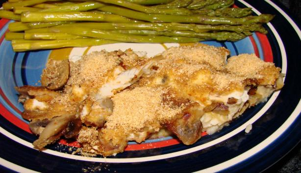 Sour Cream Fish Fillets