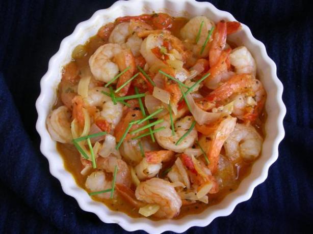 Moqueca De Camarao (Shrimp Stew - Brazil)