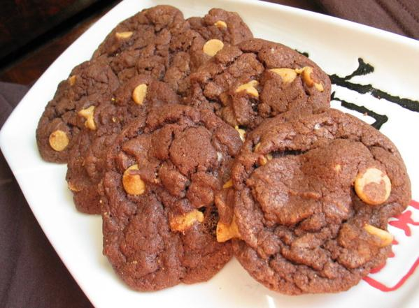 Peanut Butter Devil Cookies