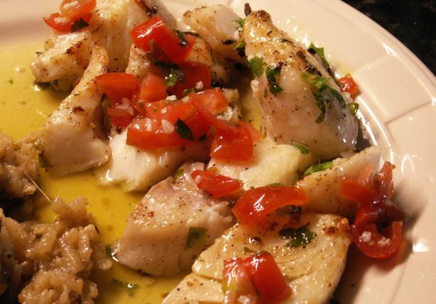 Tony's Marinated Halibut