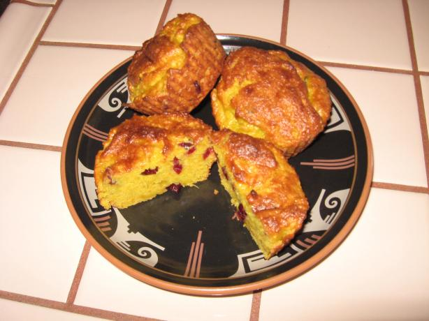 Truly Orange Cranberry Muffins