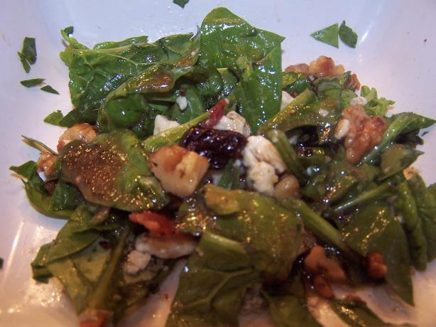Balsamic Spinach Salad