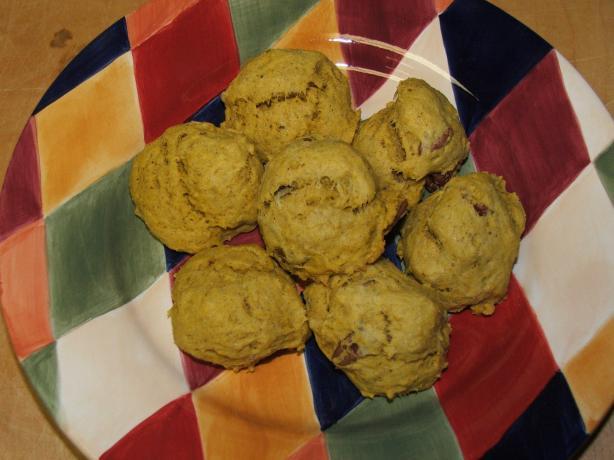 Sugar-Free Pumpkin Cookies
