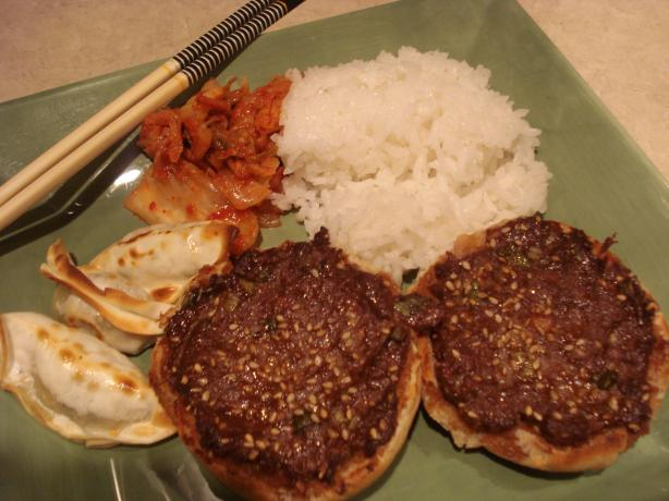 Mika's Open-Face Korean Hamburgers