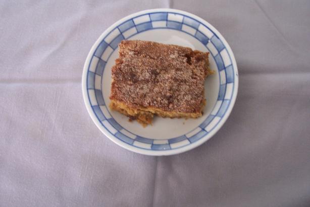 Scandinavian Rhubarb Cake