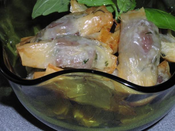 Beef and Horseradish Bonbons