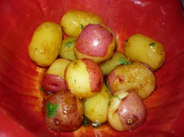 Caramelized New Potatoes