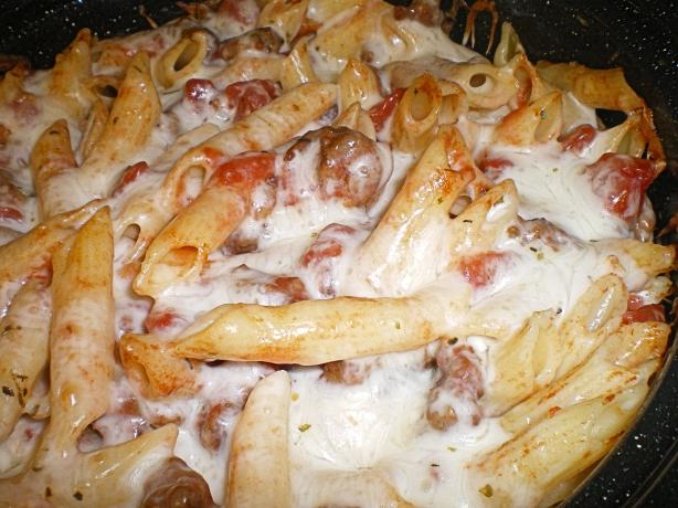 Italian Sausage and Penne Bake