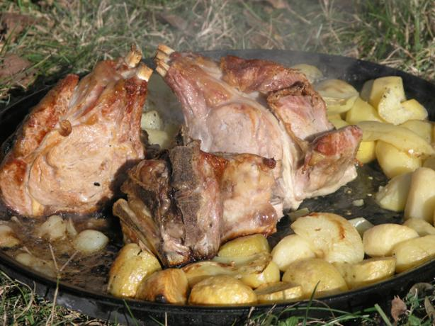 Croatian Old Time Veal and Baby Goat «pod Peku»
