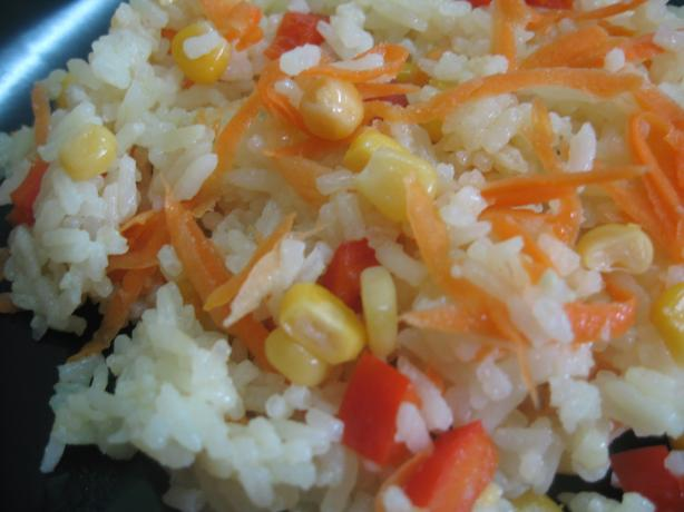 Tanzanian Vegetable Rice