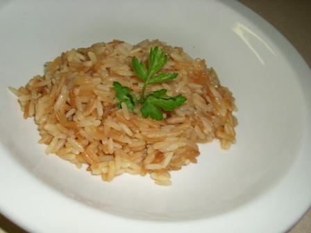Spicy Steamed Rice With Cumin and Lime Juice