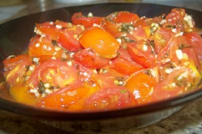 Cherry Tomato Sauce With Lemon