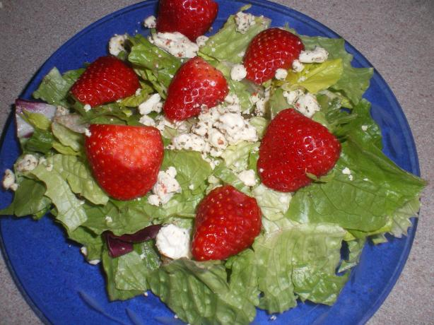 Feta and Strawberry Salad