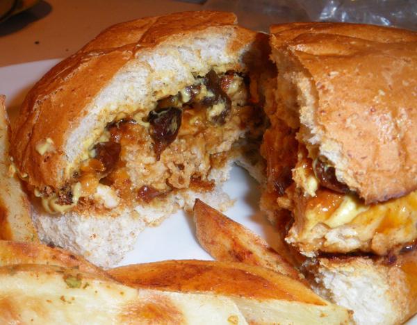 Turkey Burgers With a Twist