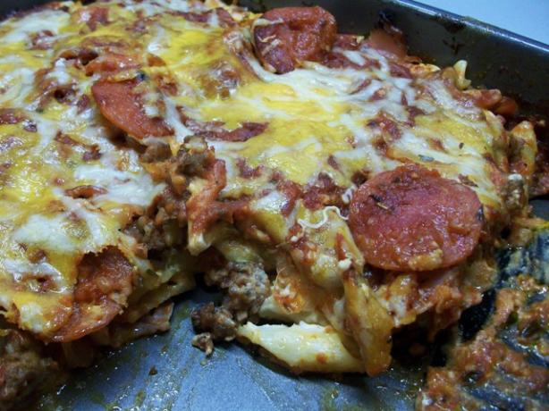 Pizza Noodle Bake