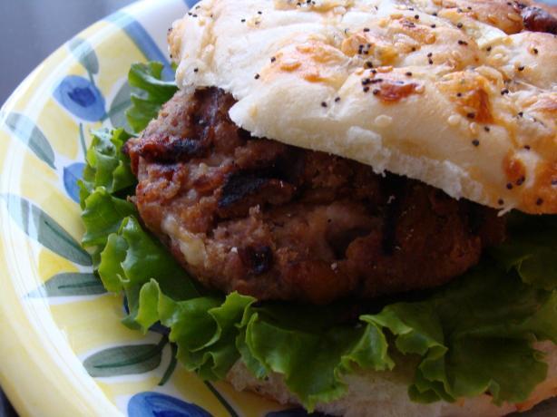 Mango Chutney and Havarti Turkey Burgers