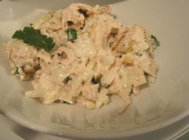 Delicious Homemade Chicken Salad Wraps