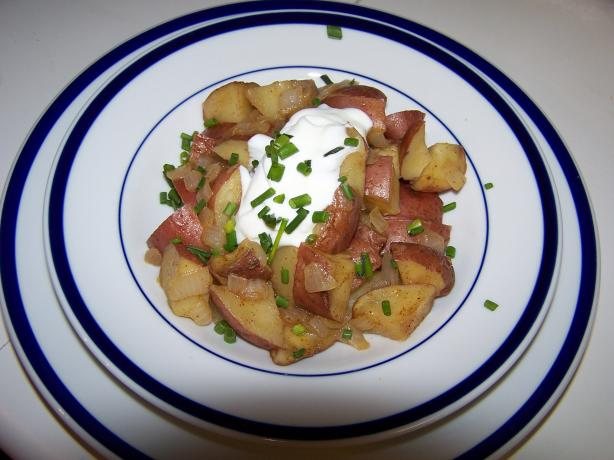 Zesty Potatoes With Sour Cream & Chives