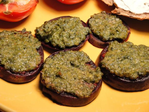 Roasted Pesto Beets