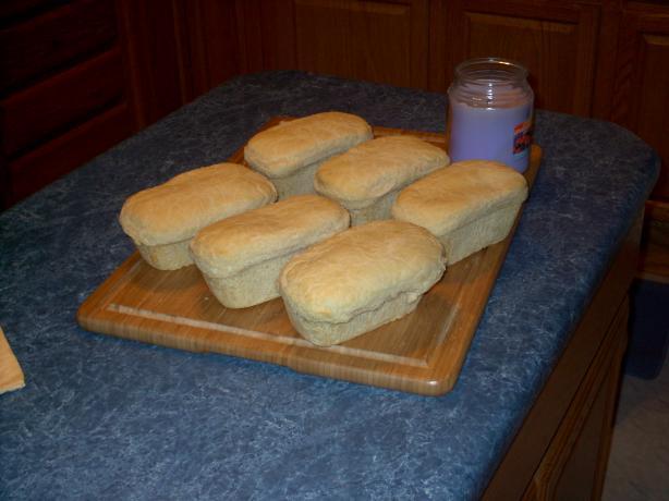 """Dj's """"true"""" Salt Rising Bread"""
