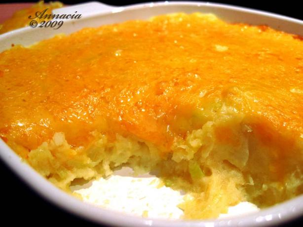 Cheddar Potato Bake