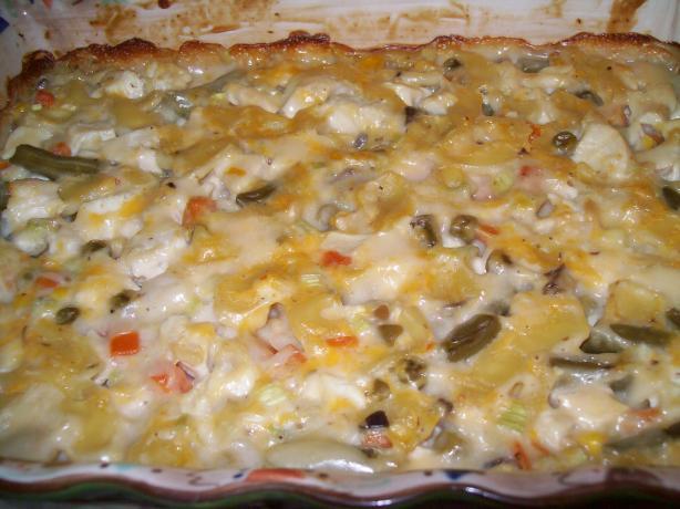 Rosalie's Chicken Pasta Casserole - OAMC